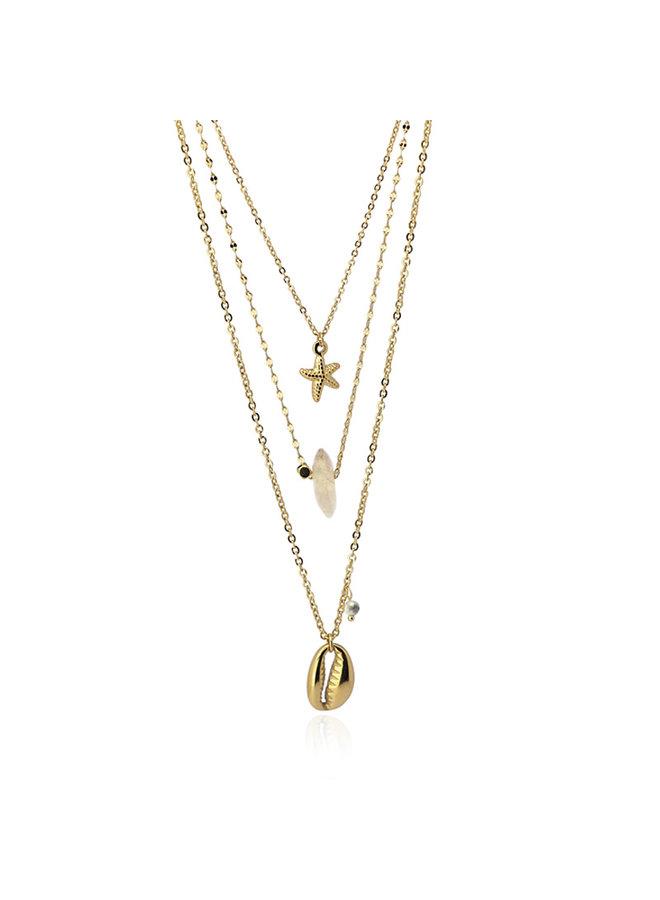 Necklace long COA864BL