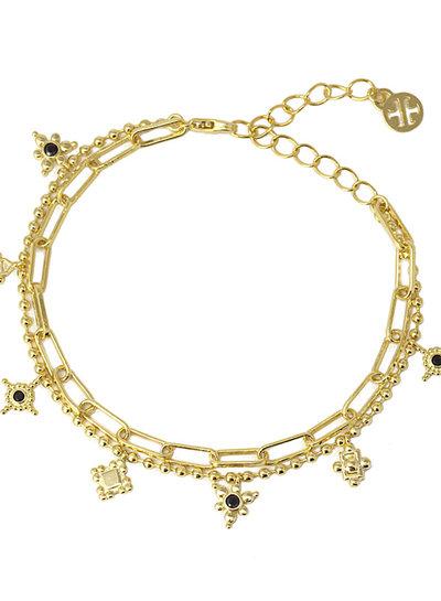 Anartxy juwelen Bracelet 2 together BPU042D