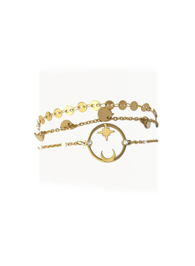 Bracelet 3 ensemble BPU045D