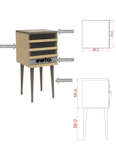 Anartxy juwelen CUPBOARD Anartxy with presentation material