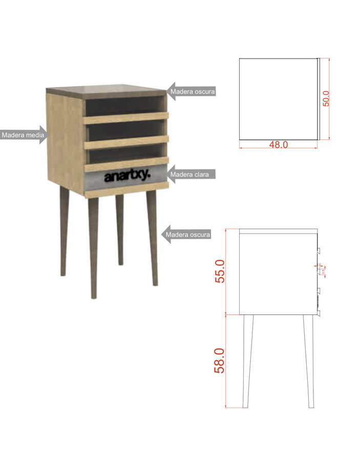CUPBOARD Anartxy with presentation material