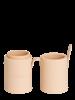 Style Brush cup cream empty 4812E