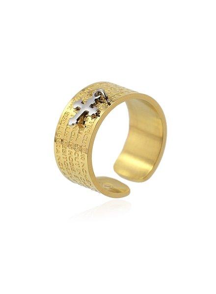 Anartxy juwelen Anneau de prière AAN520D14