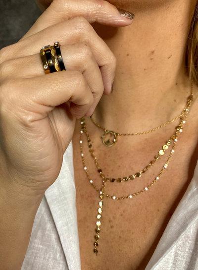 Anartxy juwelen Bicolor Ring AAN97N16
