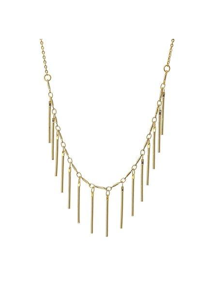 Anartxy juwelen NECKLACE WITH PENDANT BARS COA841