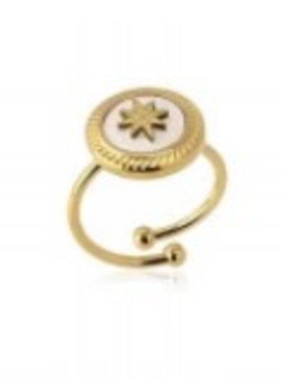 Anartxy juwelen AAN477 STAR DETAIL RING