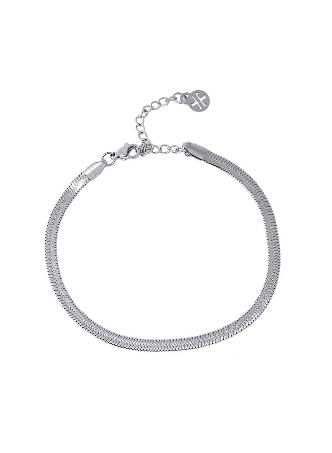 ATO067 PL  ANKLET SNAKE 2021 TYPE TWO 4MM