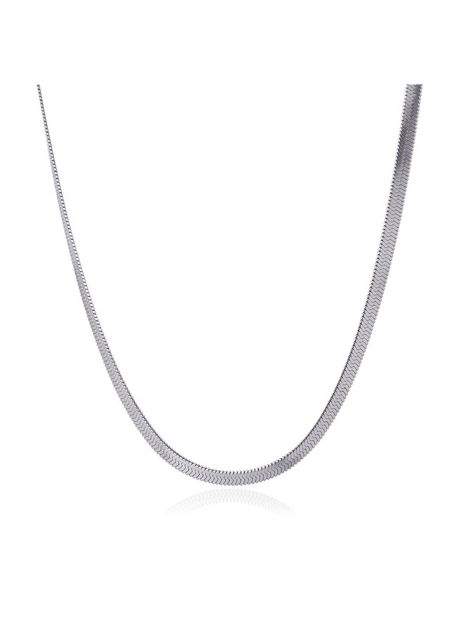 BCO031PL  NECKLACE SNAKE 2021 TIPO ONE 4MM