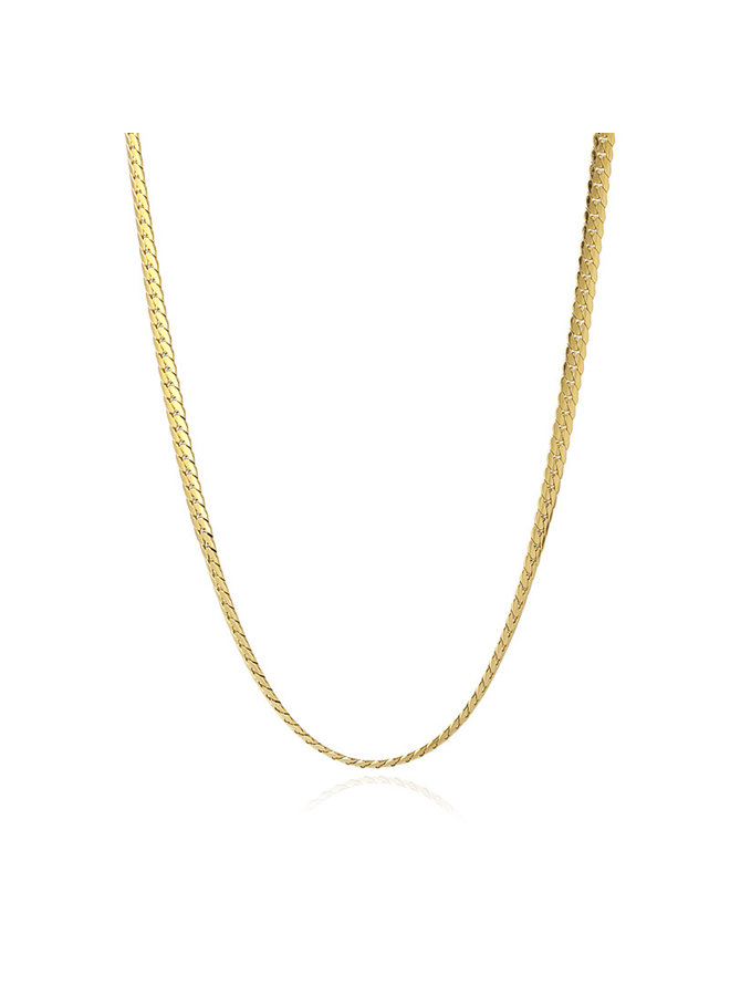 BCO032D NECKLACE SNAKE 2021 TIPO TWO 4MM