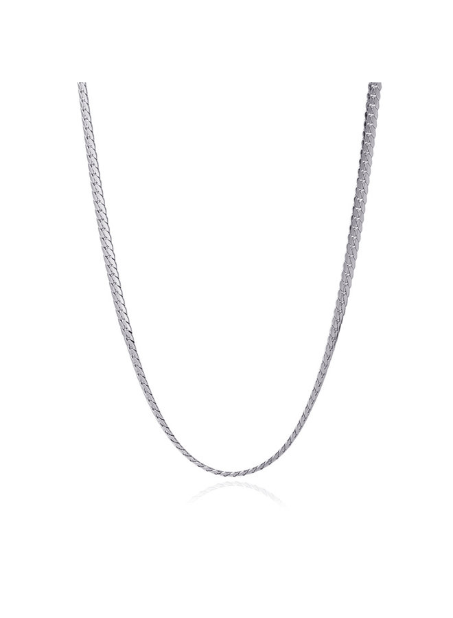 BCO032PL  NECKLACE SNAKE 2021 TIPO TWO 4MM