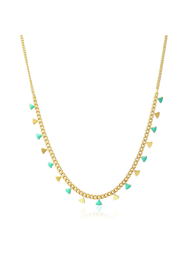 MULTI CHARMS CHAIN NECKLACE