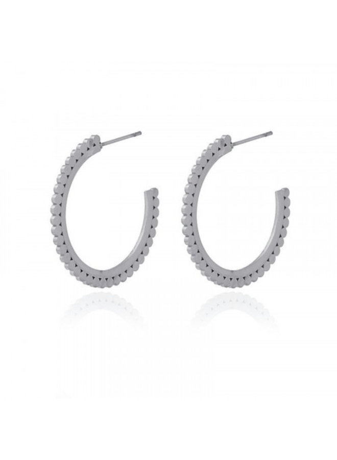 ROUND DOTS SMALL SIZE EARING