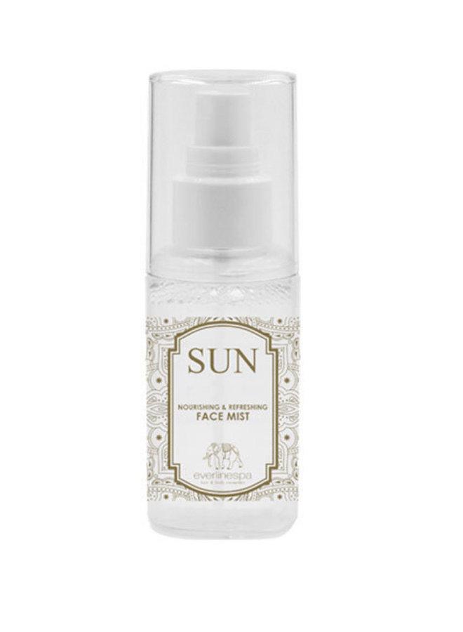 Sun Nourishing and refreshing face mist