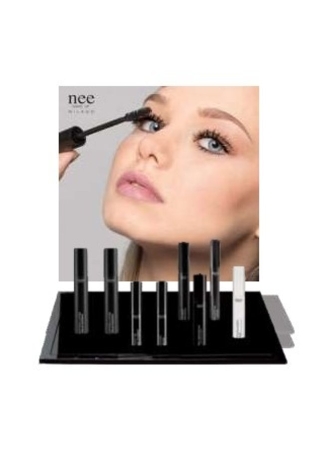 No expo plex mascara with testers with testers
