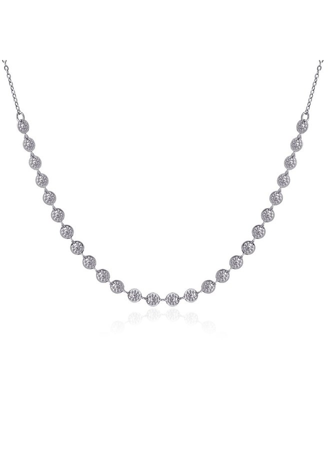 KETTING 38CM ROND STIPPENKETTING