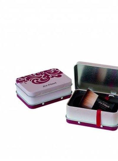 DaVinci Kabuki Foundation and Powder in Metal Travel Box 9710