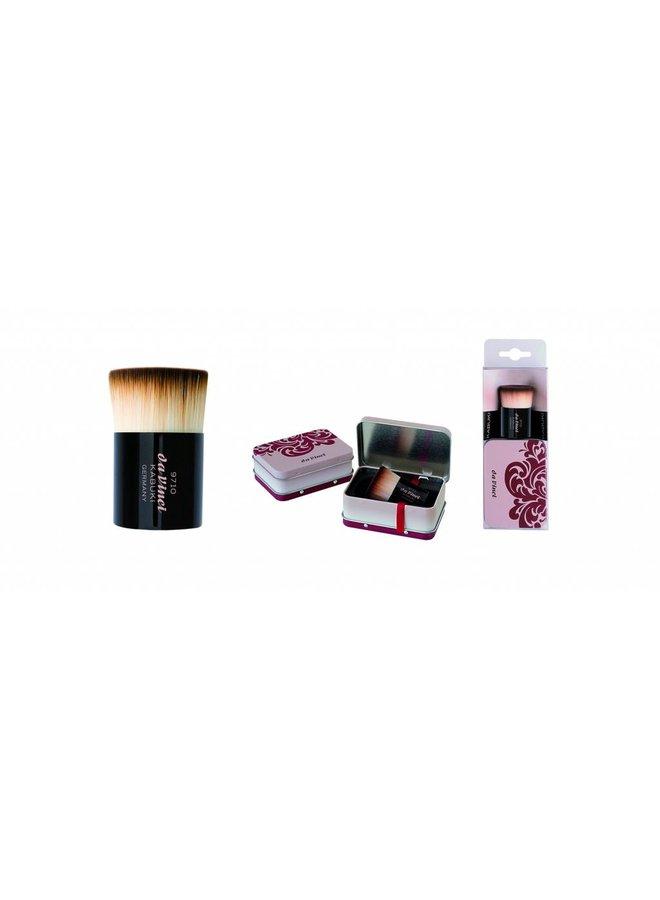 Kabuki Foundation and Powder in Metal Travel Box 9710