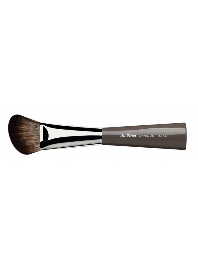 """Synique Blusher/Contour Brush Angled, Extra Smooth """"Crimped"""" Synthetics Fibres 97747"""