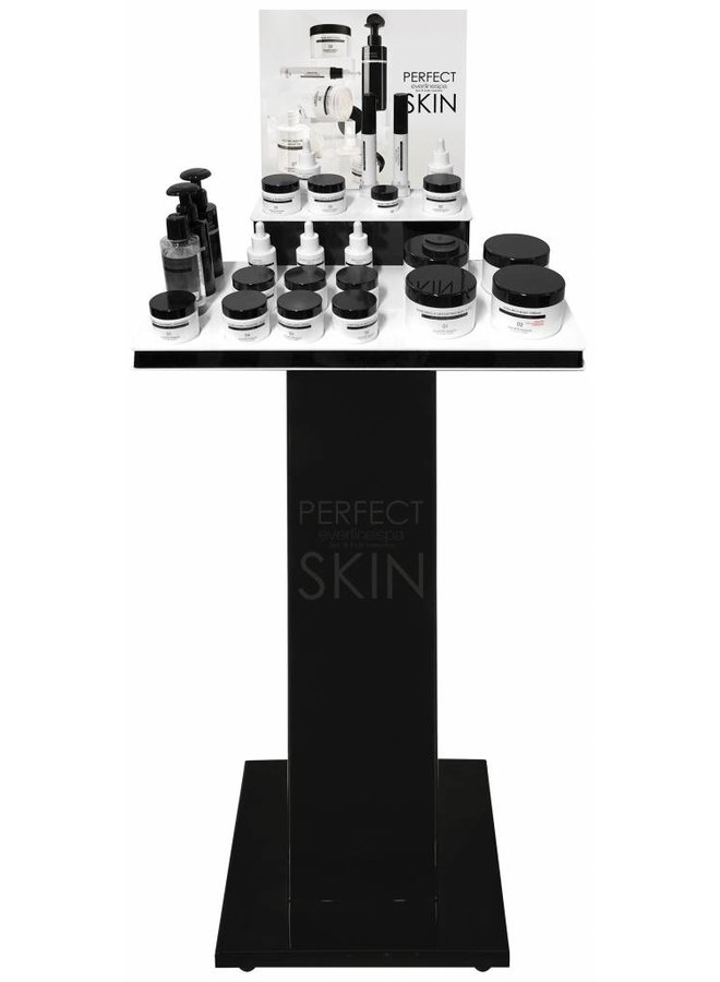 Perfect Skin Expo with testers