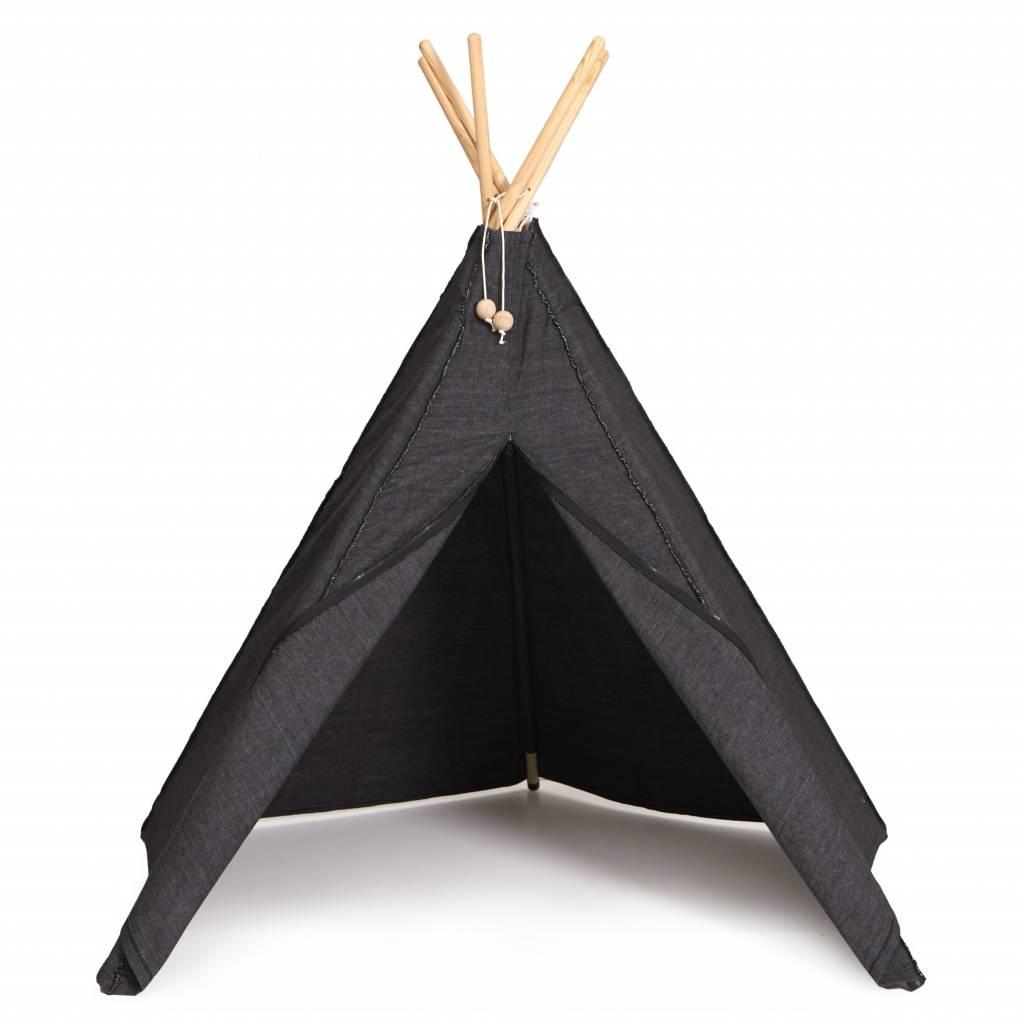 Roommate Roommate Hippie Tipi tent Zwart