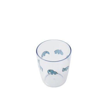 Done by Deer Done by Deer Yummy Mini Glas Blauw