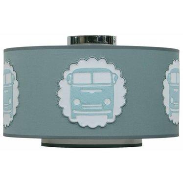 Taftan Taftan plafondlamp bestelbusje grijs-groen