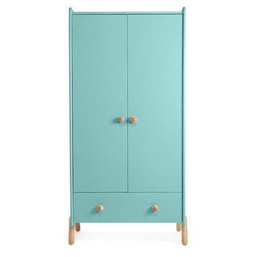 Ukkepuk Super leuke vrolijk linnenkast van Ukkepuk  in de kleur Turquoise