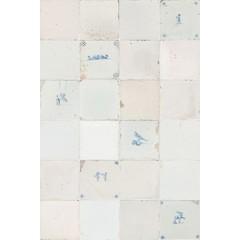 Studio Ditte Tegeltjes Behang Antiek Blauw Studio Ditte