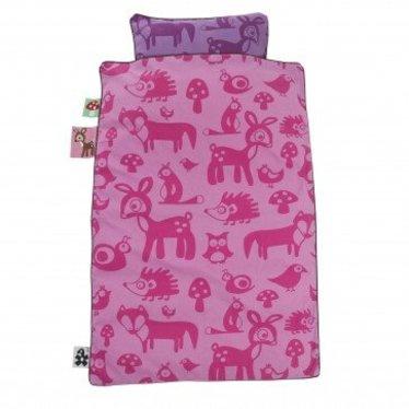 Sebra Hele mooie dekbedovertrek van het merk sebra Forest Pink