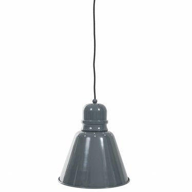 Sebra Leuke Metalen Hanglamp Groot Grijs van Sebra