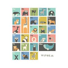 W:Form Alfabet Poster Engelstalig