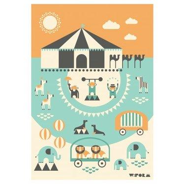 Leuke  Poster Circus A3 van W:Form