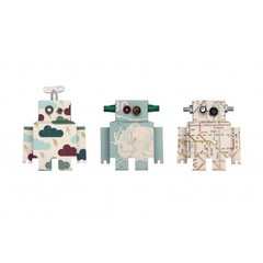 Studio Ditte Studio Ditte Muursticker Set Robots