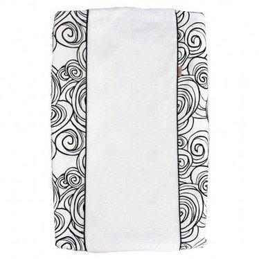 Witlof for Kids Leuke witlofforkids aankleedkussen in de kleur zwart-wit