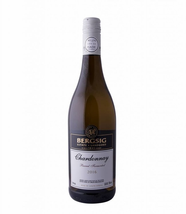 Bergsig Estate Chardonnay 'Barrel Fermented' 2020, Bergsig Estate