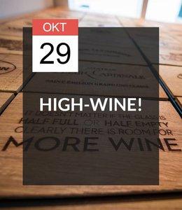 -VOLGEBOEKT- 29 OKT - High-Wine!