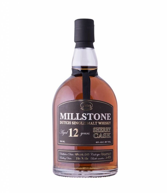 Zuidam Millstone Aged 12 Years Sherry Cask, Zuidam Distillers