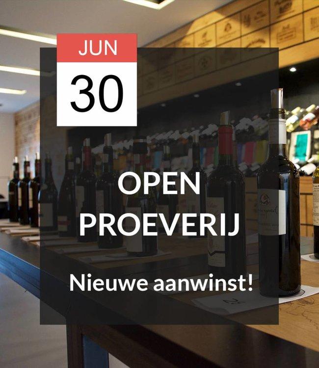30 JUN - Open proeverij: Nieuwe aanwinst!