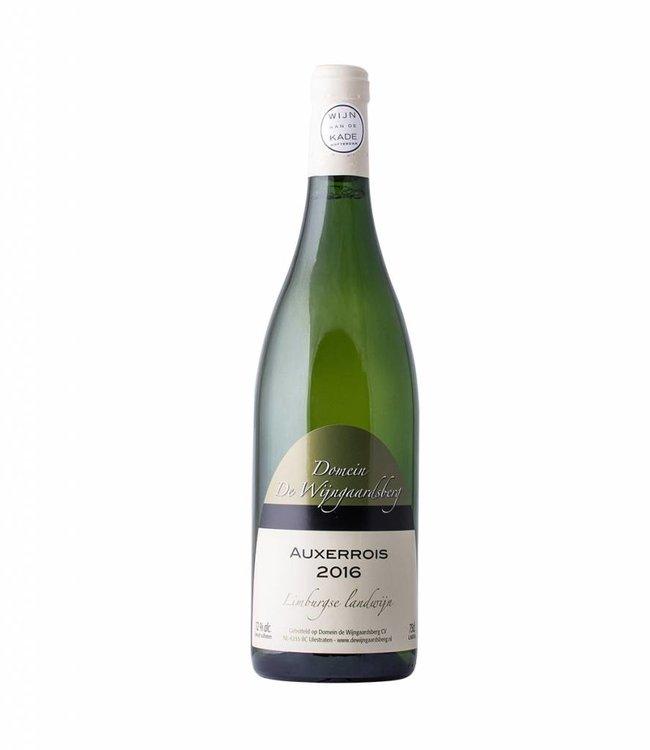 Domein de Wijngaardsberg Auxerrois 2019, Domein de Wijngaardsberg