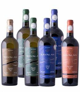 Aspi Winery Proefdoos - Savalan uit Azerbeidzjan, Aspi Winery