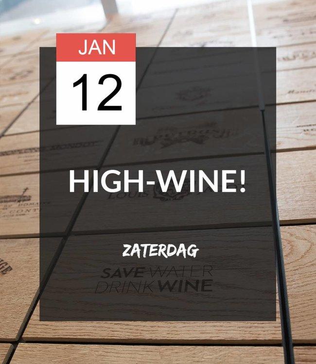 12 JAN - High-wine!