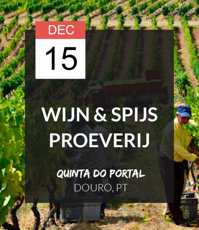 15 DEC - Wijn & spijs proeverij: Quinta do Portal