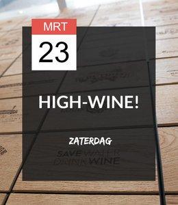23 MRT - High-wine!