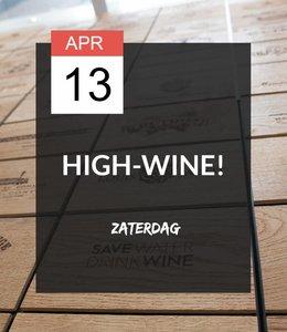 13 APR - High-wine!