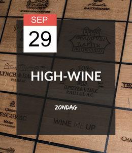 29 SEP - High-wine!