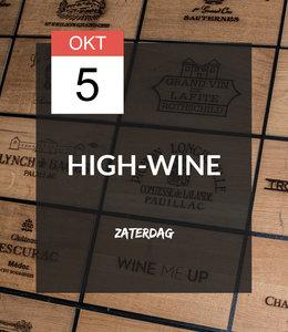 5 OKT - High-wine!