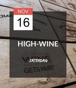 16 NOV - High-wine!