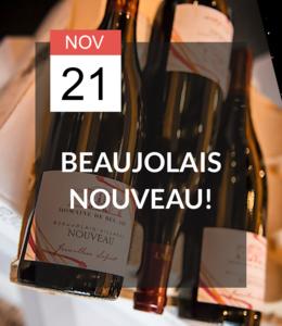 21 NOV - Open proeverij: Beaujolais Nouveau!