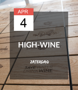 4 APR - High-wine!