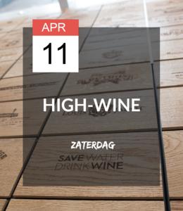 11 APR - High-wine!